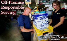 Off-Premises Responsible Serving | Bartending License